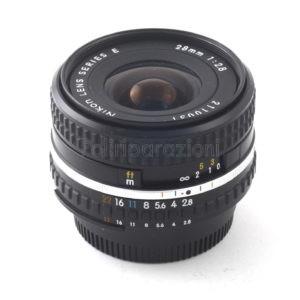 Obbiettivo Nikon Lens Series-E 28 f 1:2,8