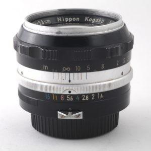 Obbiettivo Nikon Nikkor-S Auto 58 f 1:1,4