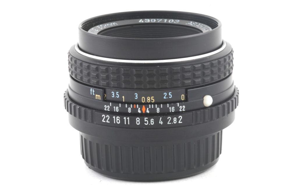 Obbiettivo Pentax-M 50 f 1:2 SMC