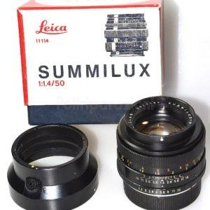 Obbiettivo Leica Leitz Canada Summilux 50 f 1:1,4