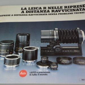 Libretto Informativo Leica R Italiano