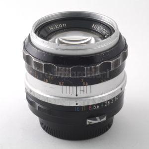 Obbiettivo Nikon Nikkor-S 50 f 1:1,4
