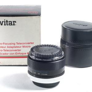 Vivitar 2x Macro-Focusing Teleconverter per Canon C/FD
