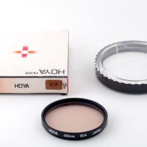 Filtro Hoya 49mm 81A