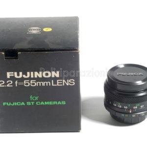 Obbiettivo Fujinon 55 f 2,2 per Fujica ST Zenit passo a vite Praktica e Pentax SpotMatic