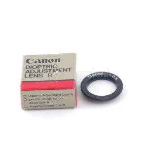 Lente di Correzione Oculare R -0.5 per Canon AE Series