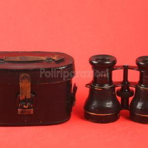 Binocolo Antico fine 800 da Caccia (Jagdglas) 2 1/2x Vergr.