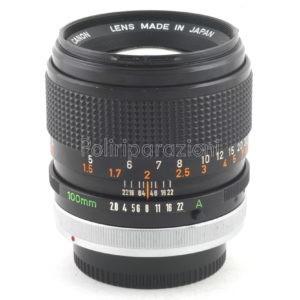 Obbiettivo Canon FD 100 f 1:2,8 S.S.C.