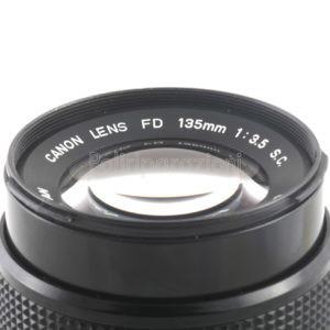 Obbiettivo Canon FD 135 f 1:3,5 S.C.