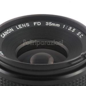 Obbiettivo Canon FD 35 f 1:3,5 S.C.