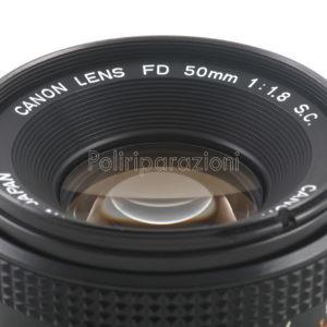 Obbiettivo Canon FD 50 f 1:1,8 S.C.