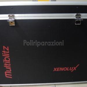 valigia originale Multiblitz per 3 Xenolux /varilux