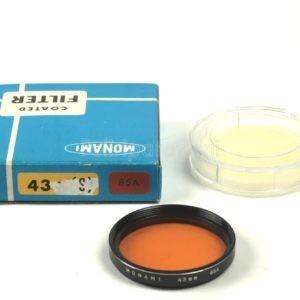 Filtro Monami 43mm 85A