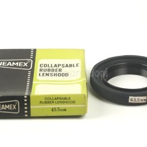 Collapsable Rubber Lenshood Cineamex 43,5mm