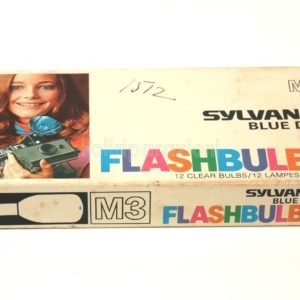 Flashbulbs Sylvania Blue Dot M3 12 Pezzi