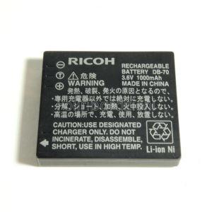 Batteria Ricoh DB-70 3,7V 1000mAh