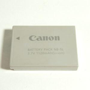 Batteria Canon NB-5L 3,7V 1120mAh