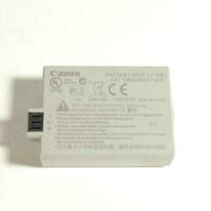 Batteria Canon LP-E5 7,4V 1080mAh
