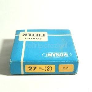 Filtro Monami 27mm Y2