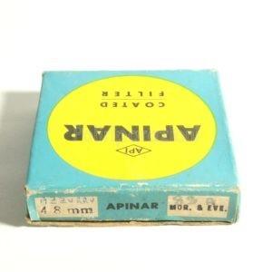 Filtro Apinar 48mm Mor. & Eve. Azzurro