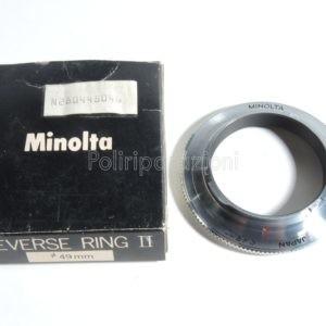 Minolta Reverse Ring II 49mm