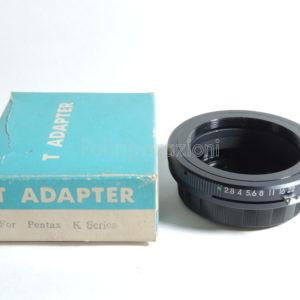 T Adapter per Pentax K Series
