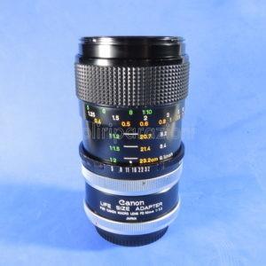 Obbiettivo Canon Macro Lens FD 50mm f 1:3,5 S.S.C.