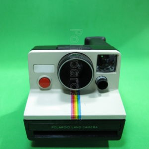 POLAROID LAND CAMERA BLACK WHITE