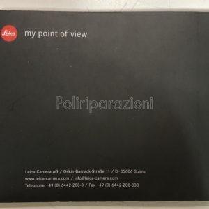 Libretto istruzioni italiano leica MP FORMATO PDF
