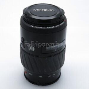 OBBIETTIVO MINOLTA AF ZOOM 100-300mm f 1:4.5 PER SONY