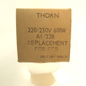 thorn 230v600w gxx36 A1/228 for fcb