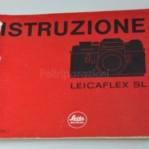 Libretto Istruzioni Leica Leicaflex SL Italiano