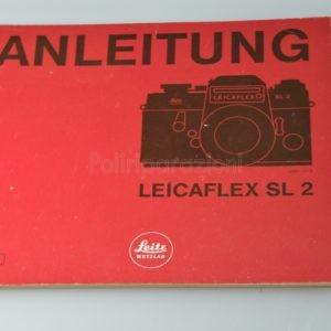 Libretto Istruzioni Leica Leicaflex SL 2 Tedesco