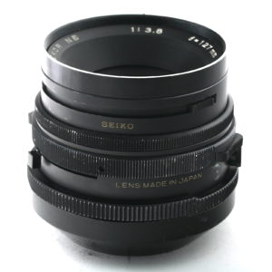 Obbiettivo Mamiya NB 127 f 1:3,8 for RB67